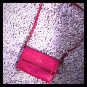 Pink Crossbody Kate spade purse